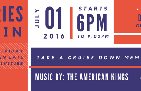 Take A Cruise Down Memory Lane During July's First Friday!