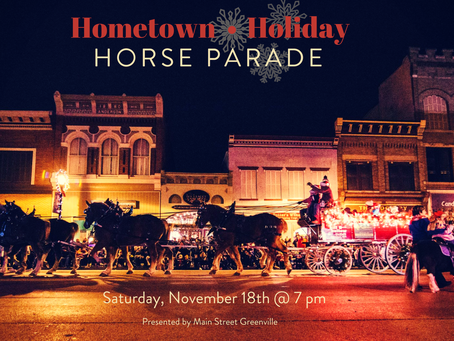 Hometown Holiday Horse Parade - CANCELLED