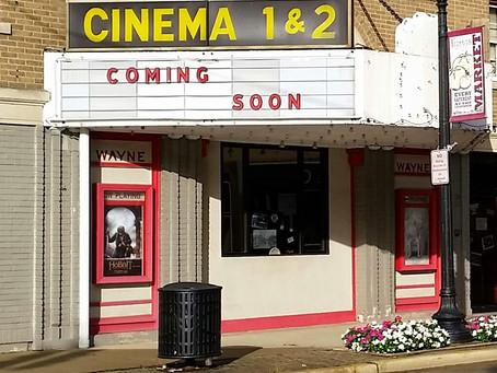 "Wayne Cinemas to Soon Be Updated and Reopen as ""The Wayne"""
