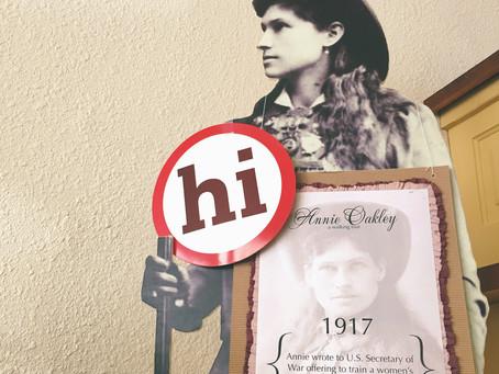 Annie Oakley Walking Tour