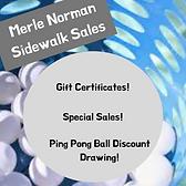 Merle Norman Ping Pong Ball Discount Dra