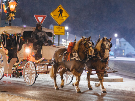 Lighted Horse Parade Overnight Getaway For Only $150!