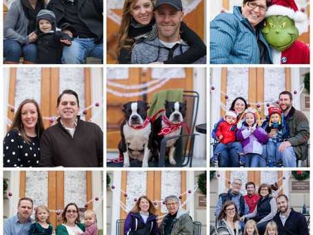 Family Photos Taken During Small Business Saturday
