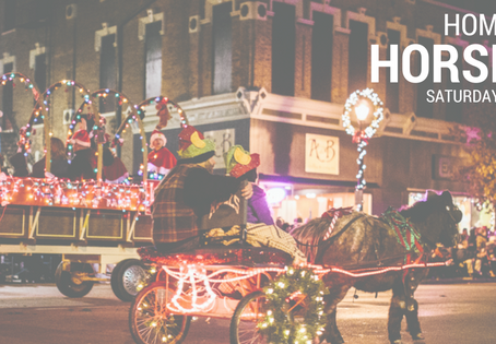 Hometown Holiday Horse Parade Returns to Downtown Greenville for the 13th Year