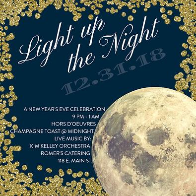 Light up the Night - Social Media Images
