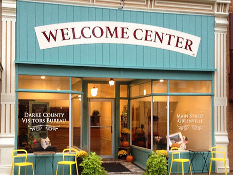The NEW Darke County Welcome Center!