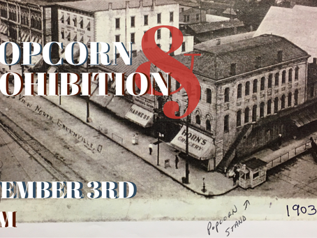 Popcorn & Prohibition is Sept. 3