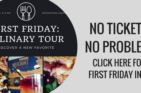 NO TICKET? NO PROBLEM! First Friday info for March!