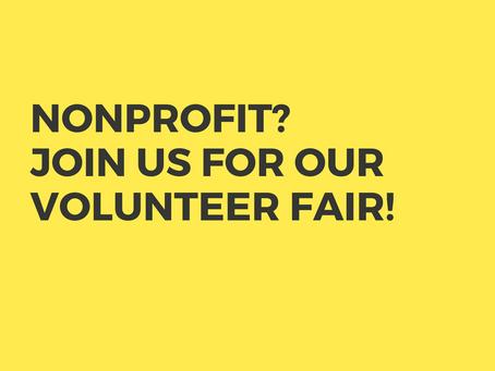 Volunteer Fair Applications Available