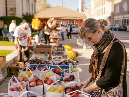 Downtown Greenville Farmers' Market Returns for Another Great Season!