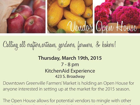Downtown Greenville Farmers' Market Open House