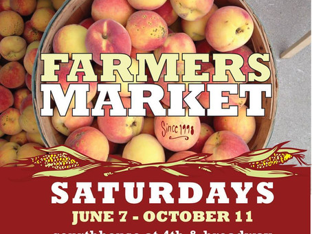Last Day for the Downtown Greenville Farmers' Market - this Saturday!