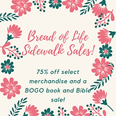 Bread o life sidewalk sale.png