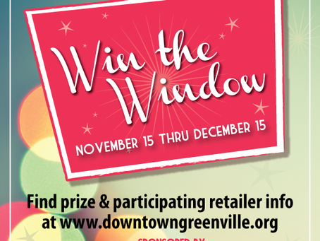 Shop Downtown Greenville to Win!