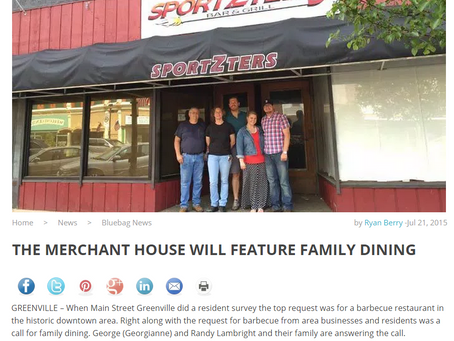 New Restaurant Coming Soon to Downtown Greenville!