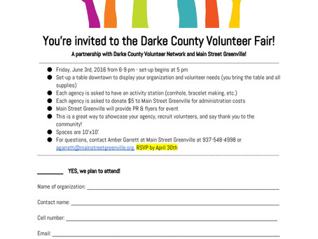 Volunteer Fair Application