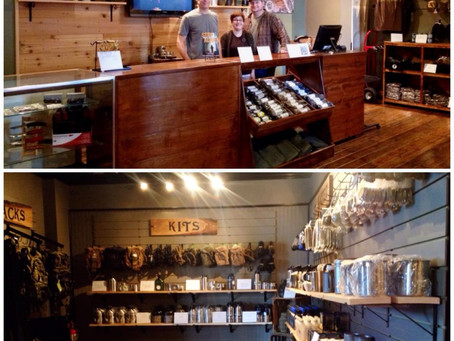 Welcome to downtown Greenville, CanteenShop.com!