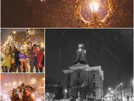 First Friday: A Christmas Night