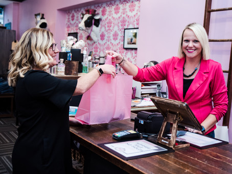 Businesses Pay It Forward at October First Friday