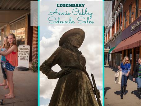 2017 Annie Oakley Sidewalk Sales