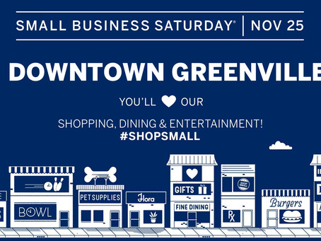 Shop local this Small Business Saturday!