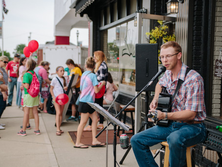 Live Music Returns for First Friday!