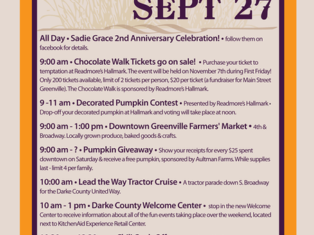Tomorrow - A Day of Harvest!