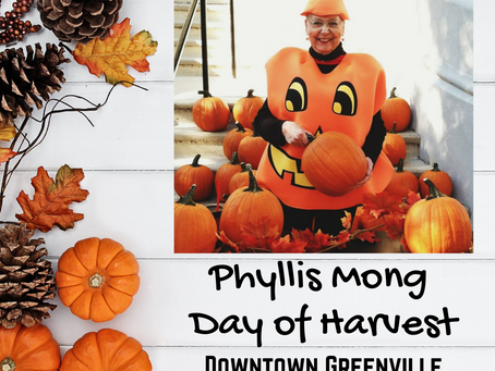 Fall will Arrive Downtown during The Phyllis Mong Day of Harvest