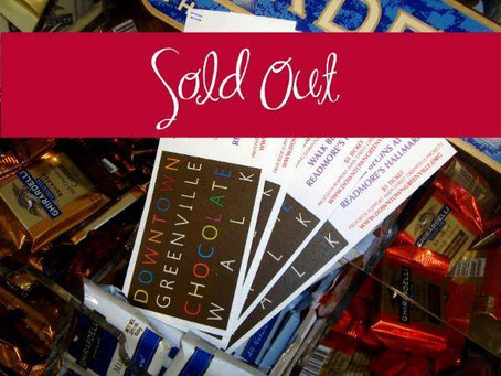 Chocolate Walk - SOLD OUT!