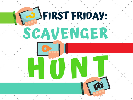 Puzzles & Prizes at April's First Friday: Scavenger Hunt