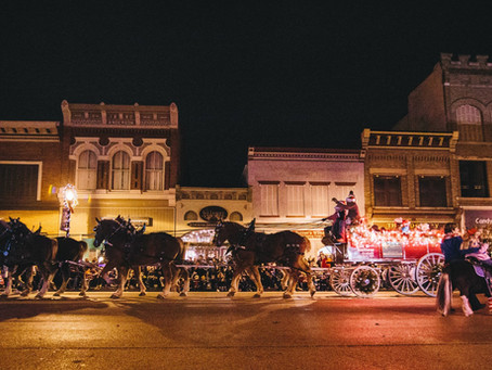 Main Street Greenville Accepting Entries for 16th Annual Hometown Holiday Horse Parade