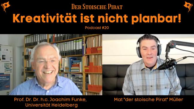 Kreativität ist nicht planbar - Ein Gespräch mit Prof. Dr. Dr. h.c Joachim Funke