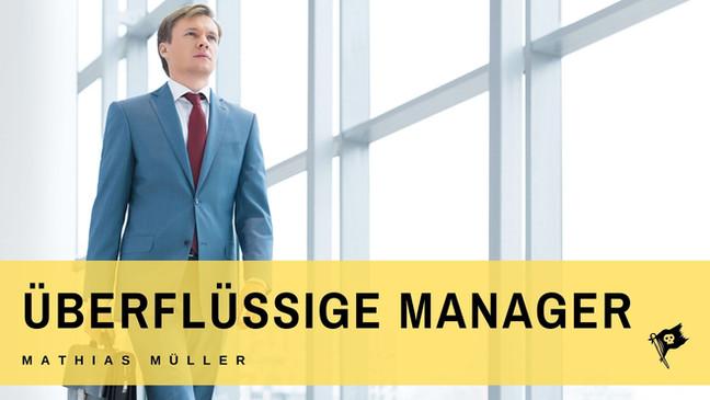 Überflüssige Manager