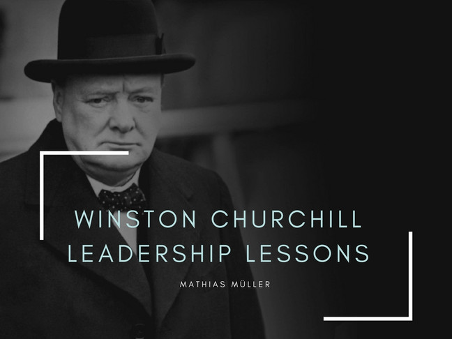 Churchill - Leadership Lehren