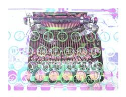typewriter-pastel