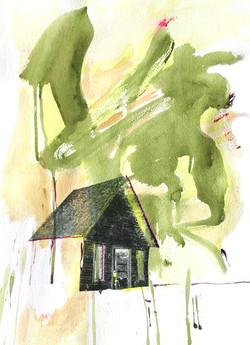 a house in the prairie