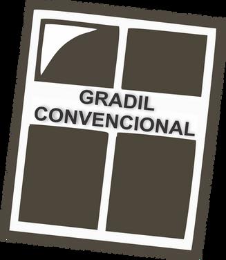 GRADIL CONVENCIONAL