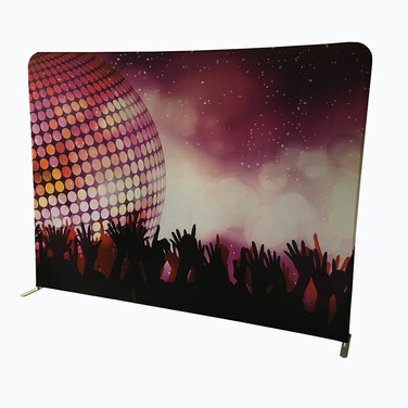 Backdrop disco