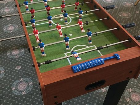 Hyra fotbollsspel