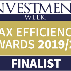 Vala shortlisted for two Investment Week awards