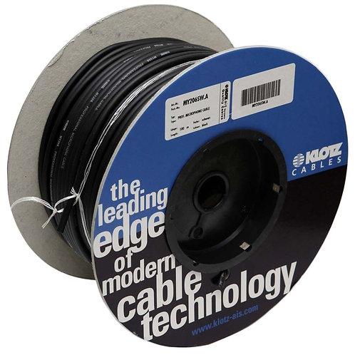 Cable de micrófono Klotz rollo 100m