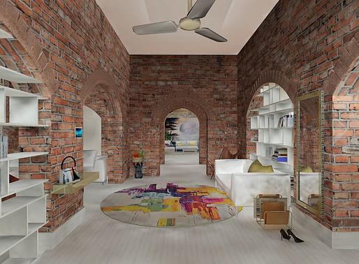 Társasházi loft otthon - 3D LÁTVÁNYTERVEK