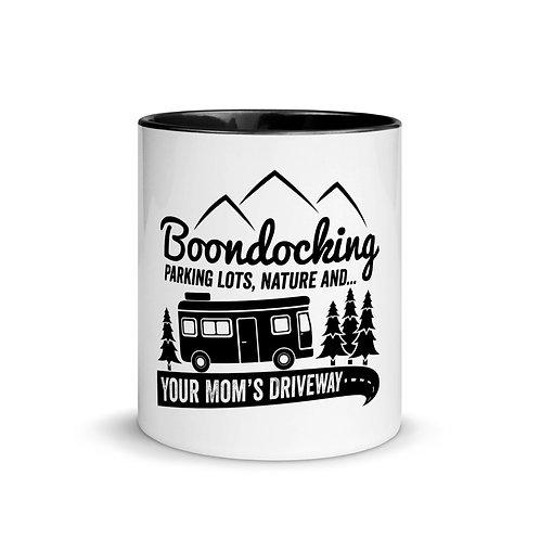 RVD Bookdockign Parkinglots Mug with Color Inside