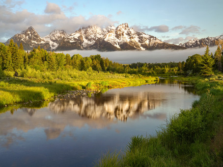 Camping among the Giants in Grand Teton National Park