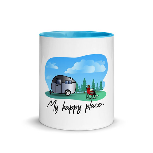 RVD My Happy Place Mug with Color Inside