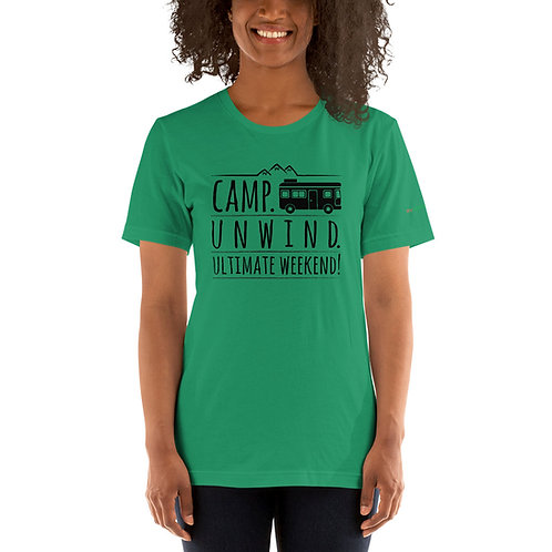 RVD Camp & Unwind Short-Sleeve Unisex T-Shirt
