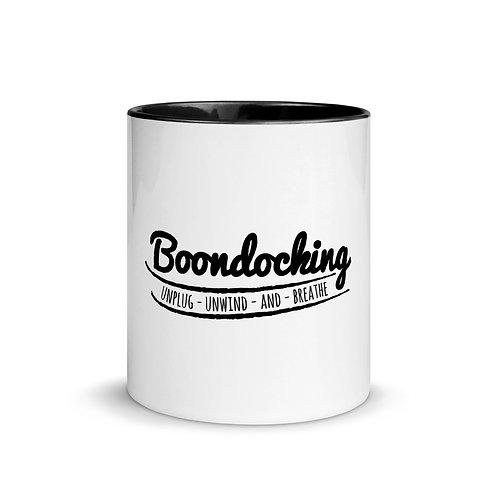 RVD Boondocking Unwind Mug with Color Inside