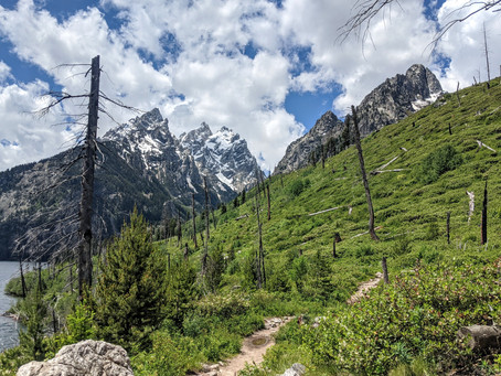 Grand Tetons' Jenny Lake Trail