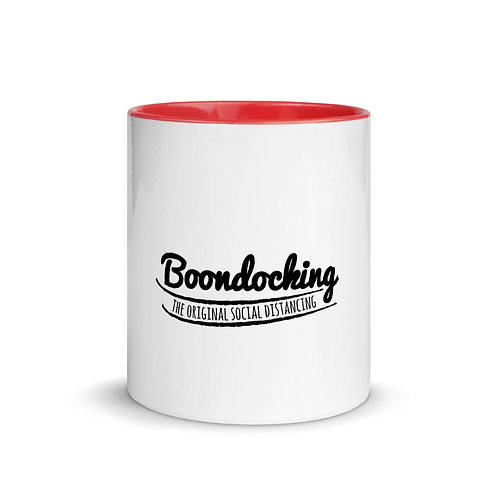 RVD Boondocking Social Distancing Mug with Color Inside