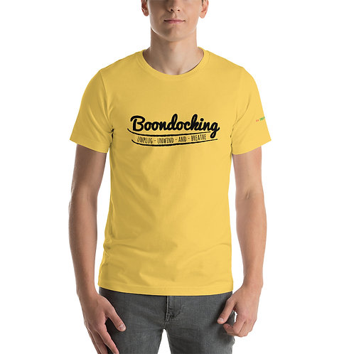 RVD Boondocking Unwind Short-Sleeve Unisex T-Shirt